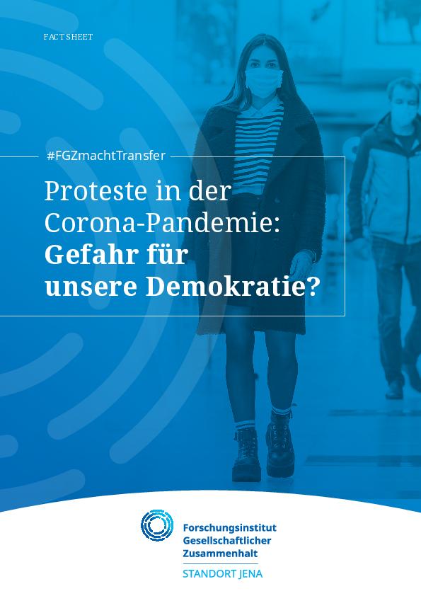 [Open Access] Proteste in der Corona-Pandemie: Gefahr für unsere Demokratie?