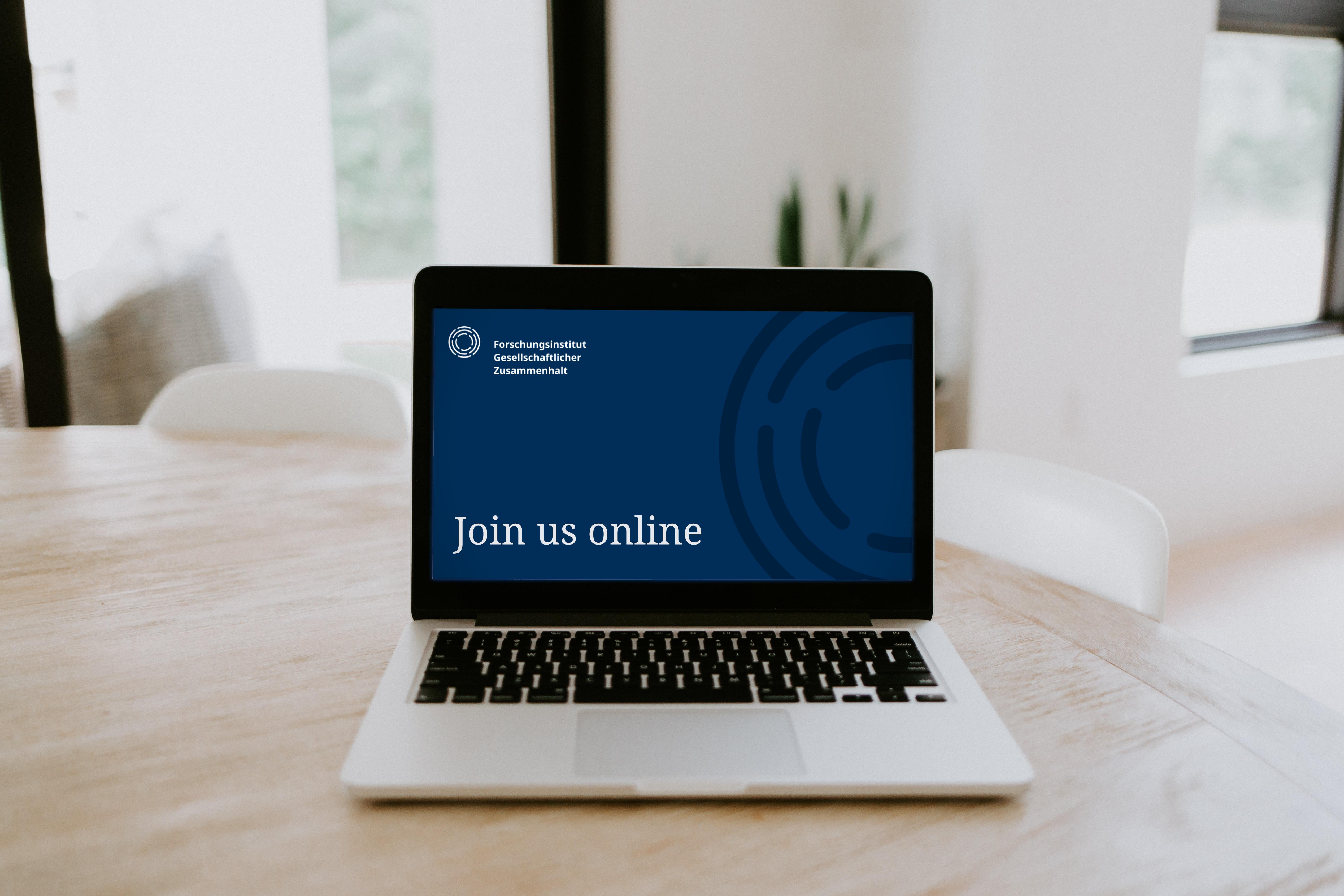 Die FGZ-Eröffnungskonferenz findet online statt. Quelle: Samantha Borges_Unsplash/ Florian Foerster