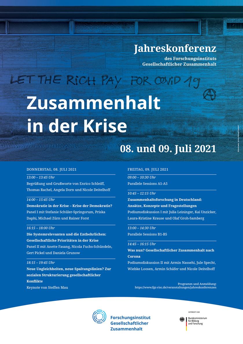 FGZ-Jahreskonferenz 2021: Zusammenhalt in der Krise