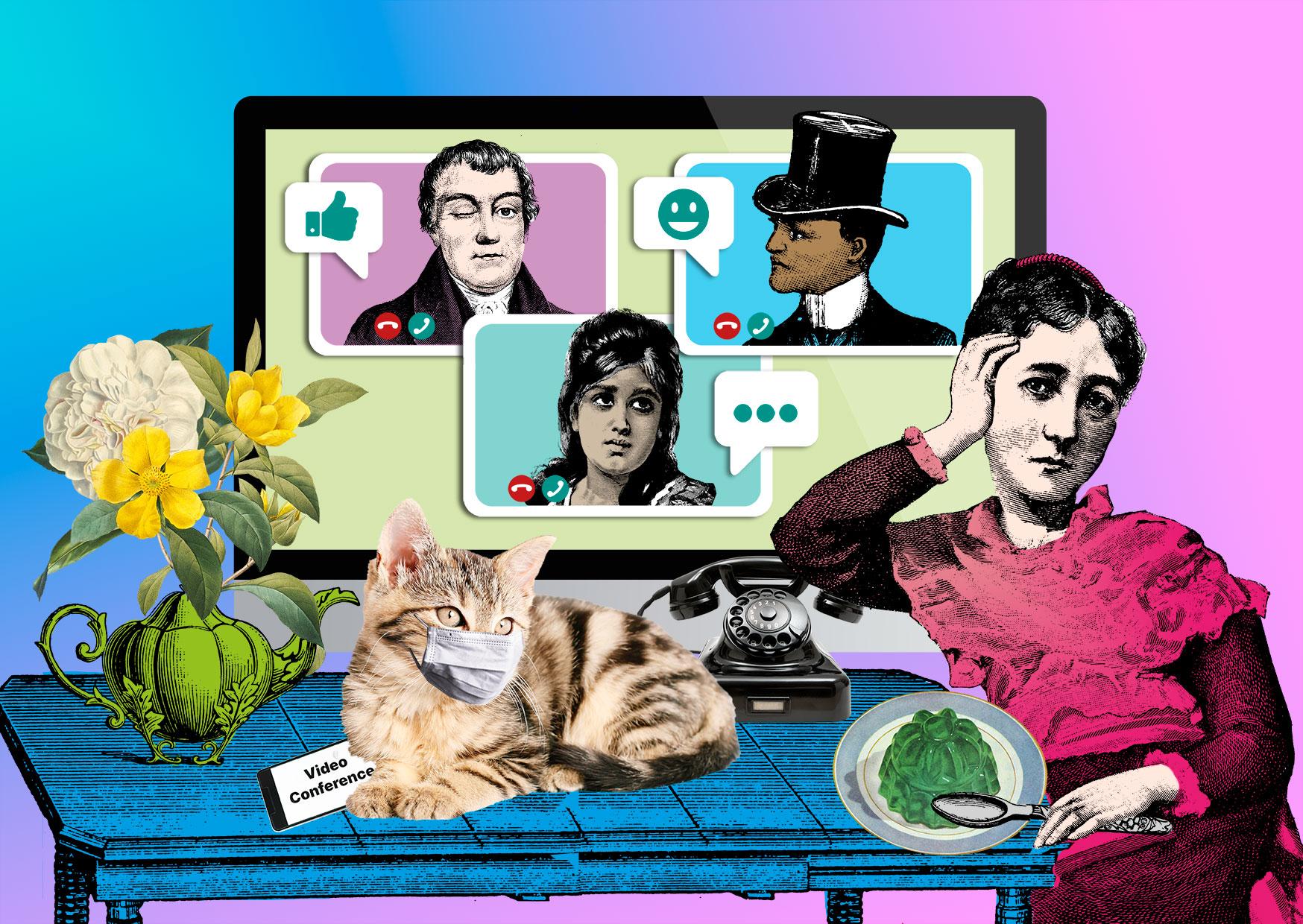 """Blog Illustration """"Wert der Arbeit"""""""